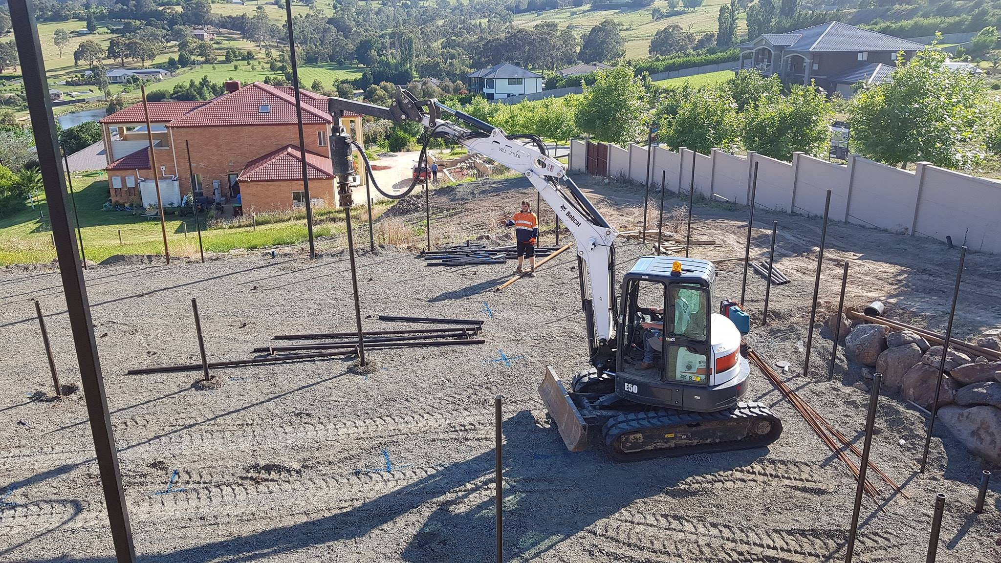 Screw Pile Installation Melbourne | Foundation in Melbourne